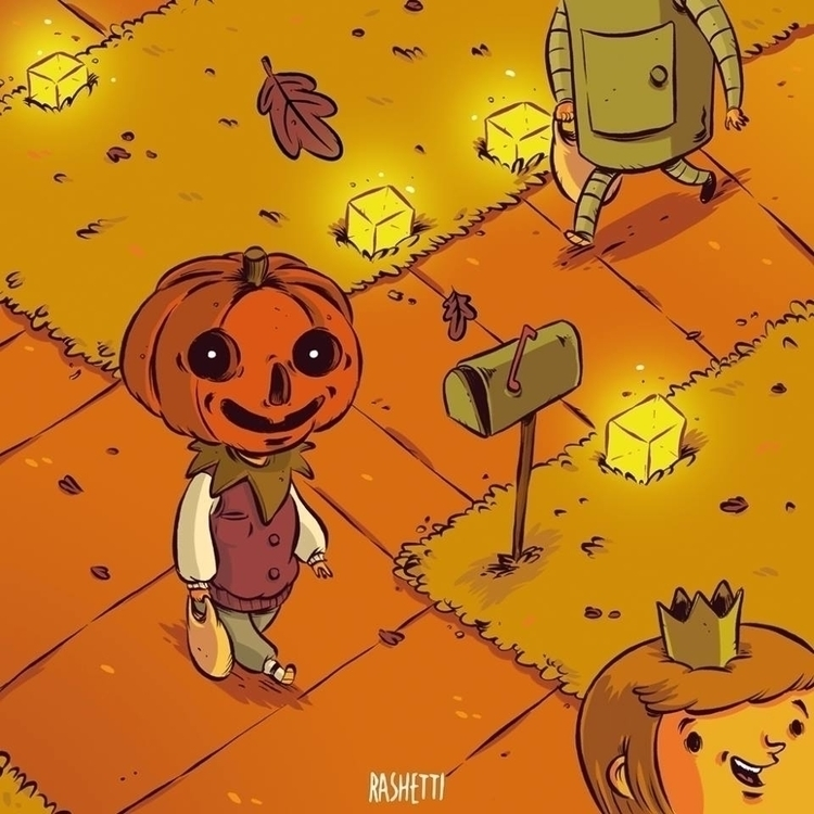 HALLOWEEN - children'sillustration - rashetti | ello