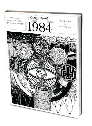 1984 Cover Design - bookcover, design - dejvidknezevic | ello