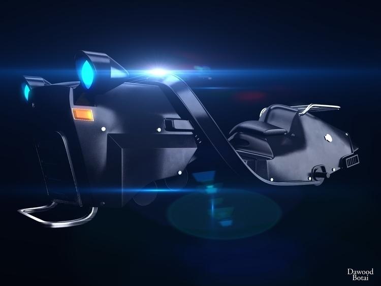 Hovercraft - 3d, 3dmax, vray, photoshop - dawood-3963 | ello