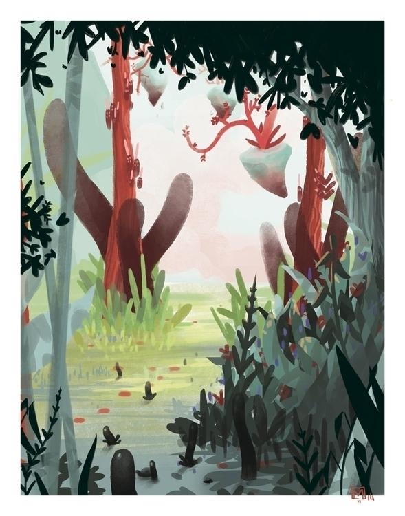 Test colors - digitalart, illustration - sarahm-4841 | ello
