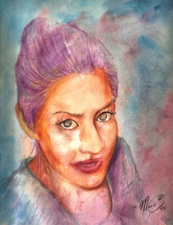 Juli, acuarela - illustration, design - stvez | ello