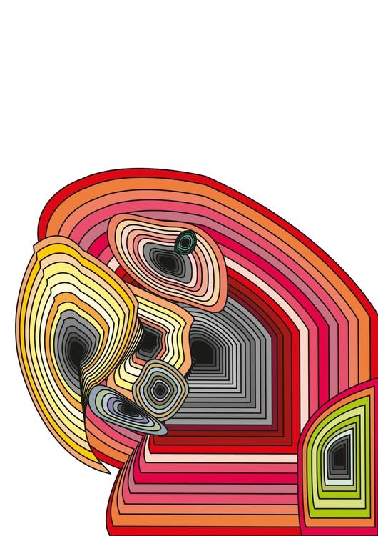 colorful parrot vector - illustration - zaytsevak | ello