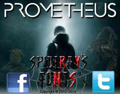 custom font based opening title - spideraysfonts-1396 | ello