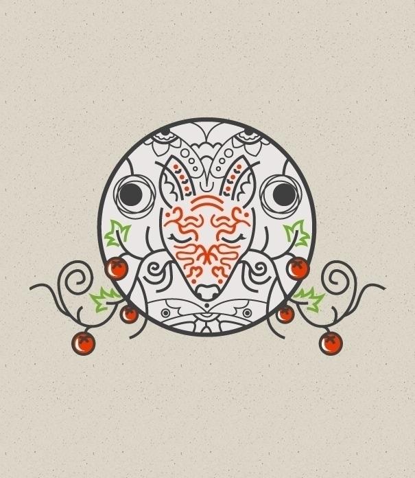 fox, illustration, animals, forest - werkmedia | ello