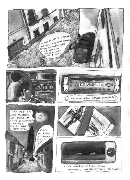 Comic detail. work prog. Carlos - carloshebles | ello