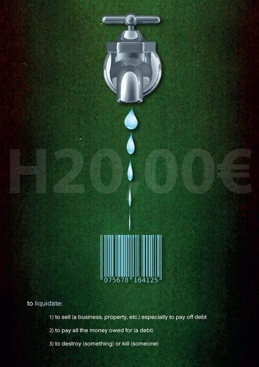 H20 Merchandise Poster Design - poster - dejvidknezevic | ello