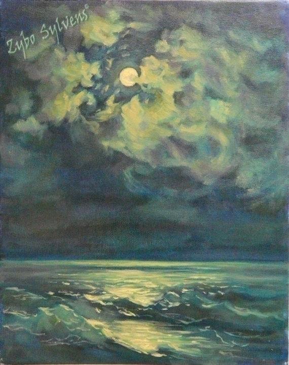 Buy etsy - painting, sea, seascape - zybo | ello