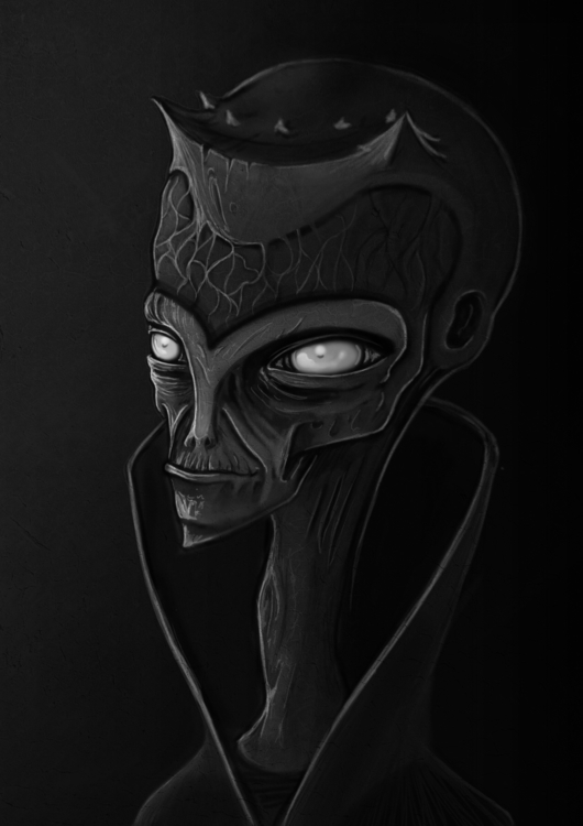 outerspace, world - characterdesign - tiboexe   ello