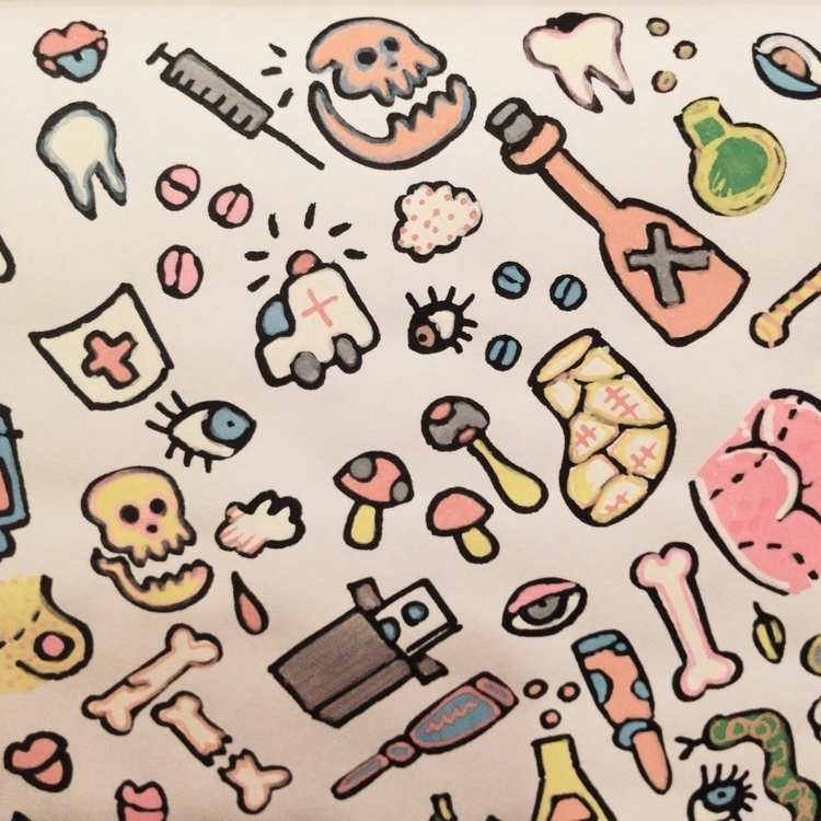 Funny medicals - illustration, illustrator - gunes_ozcan | ello