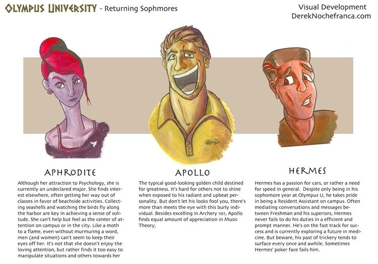 Olympus University - Returning  - dereknochefranca   ello