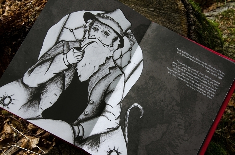 illustration, fairytale, storytelling - christinarrr | ello