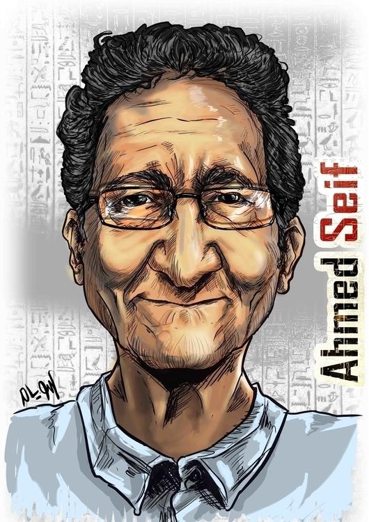 Ahmed Seif: Egyptian Renowned h - mahmoudswielam | ello