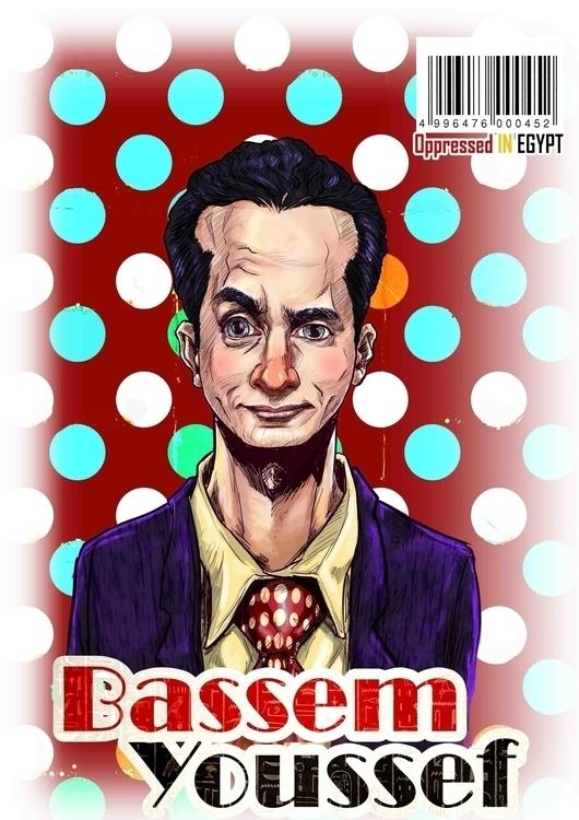 Bassem Youssef: Egyptian cardia - mahmoudswielam | ello