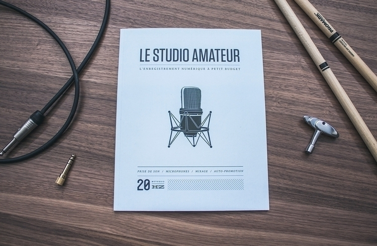 Le studio amateur - editorialillustration - alexmercier | ello