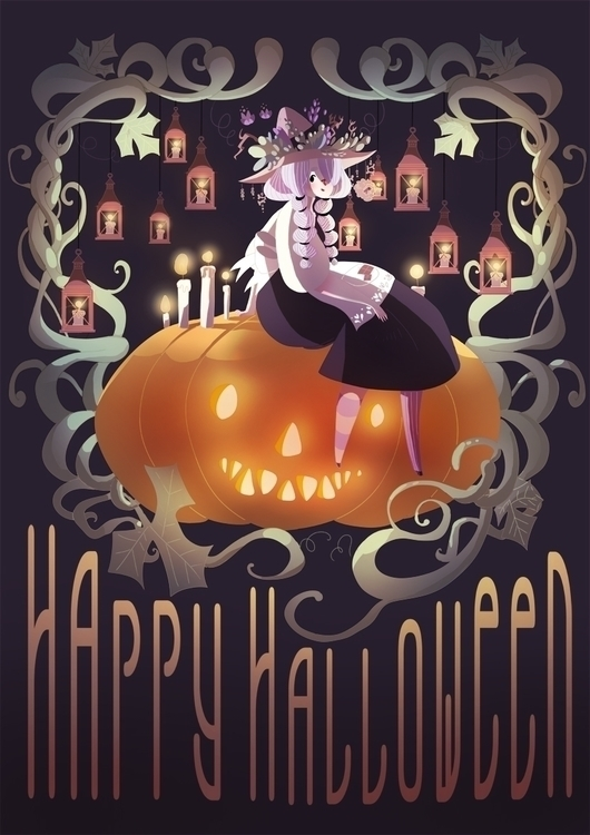 illustration, halloween, witch - silviavanni | ello