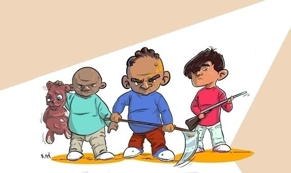 criminals - illustration, characterdesign - mahmoudswielam | ello
