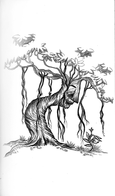 illustration, youth, inktober - amrita-4734 | ello