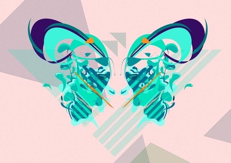 SYMETRIC - illustration, strange - timo-6292 | ello