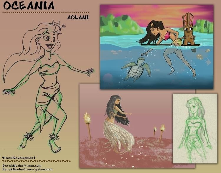 OCEANIA Packet (1 8) character  - dereknochefranca | ello