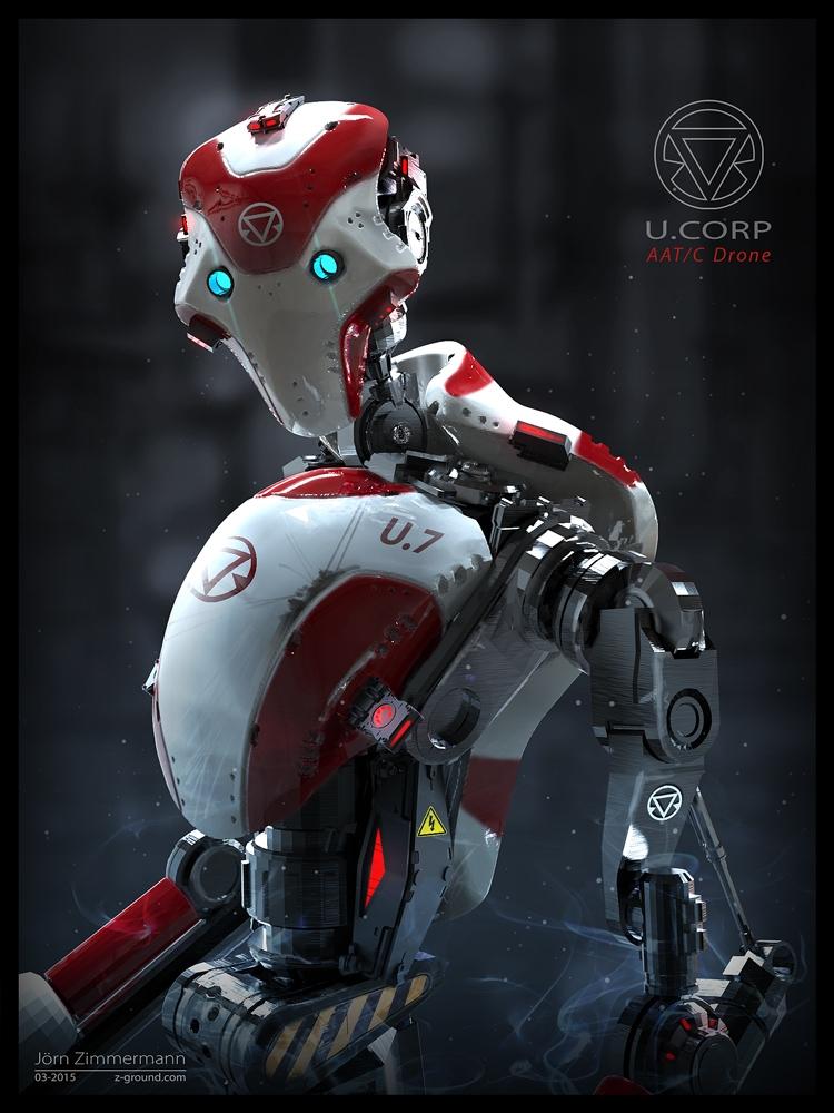 Robot Concept - robot, mech, machine - joernzimmermann | ello