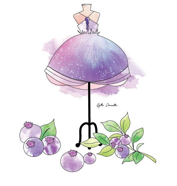 BlueBerry Fruit inspired dress - mgylle | ello