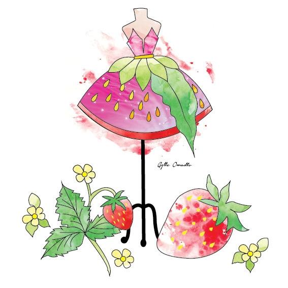 Strawberry Fruit inspired dress - mgylle | ello