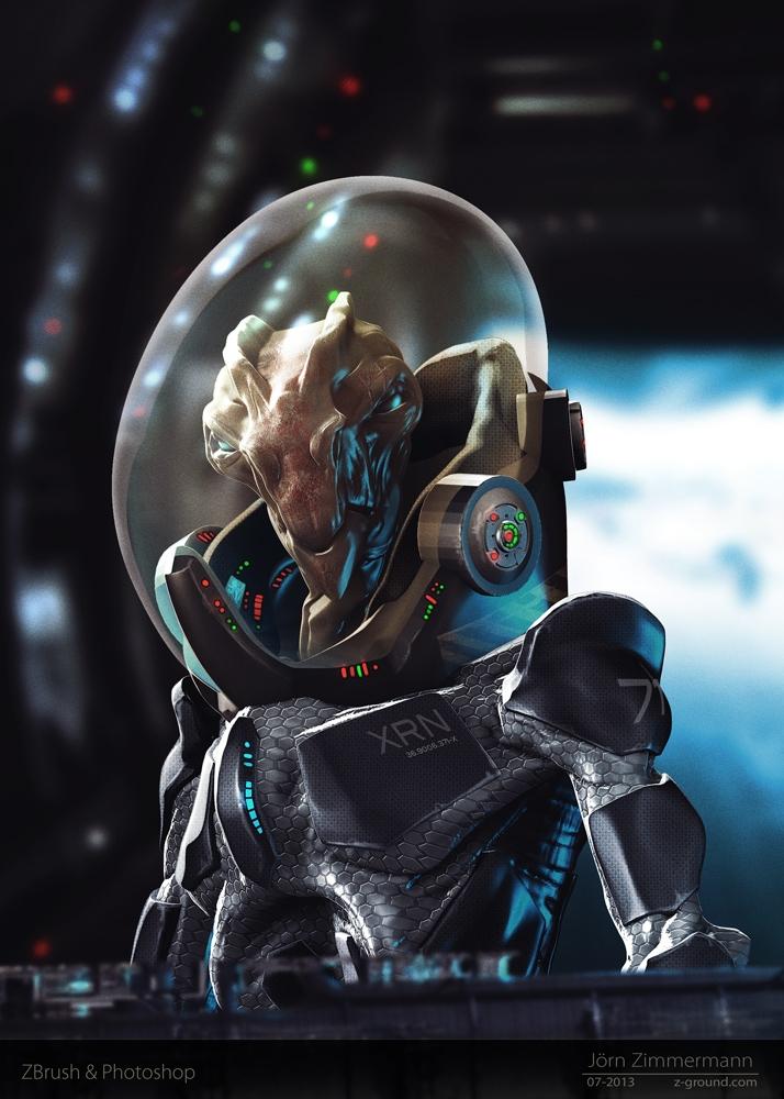 Alien concept - alien, spacesuit - joernzimmermann | ello