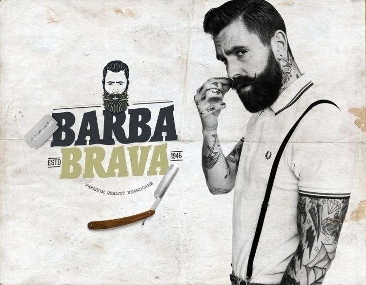 Logo, Branding Character Barba  - pixelgr | ello