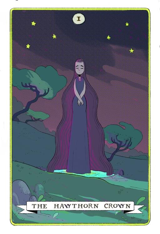 Cover Rachel Hawthorn Crown - characterdesign - cloodiedraws | ello