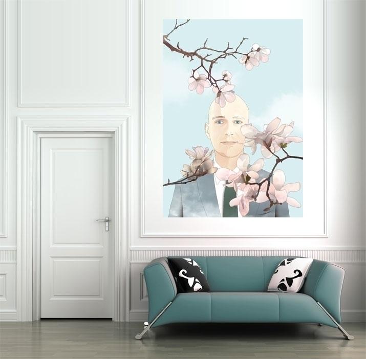 magnolia - illustration, drawing - insukko   ello