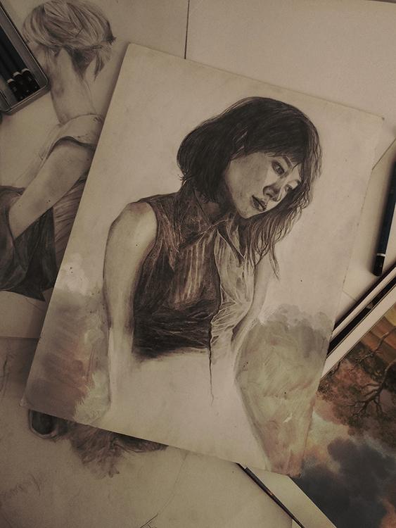 Sonata - illustration, conceptart - devia | ello