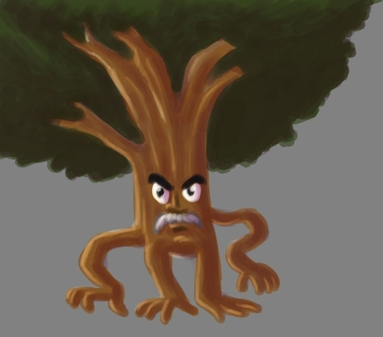 treeman ent. Coloring Photoshop - fdrawer | ello
