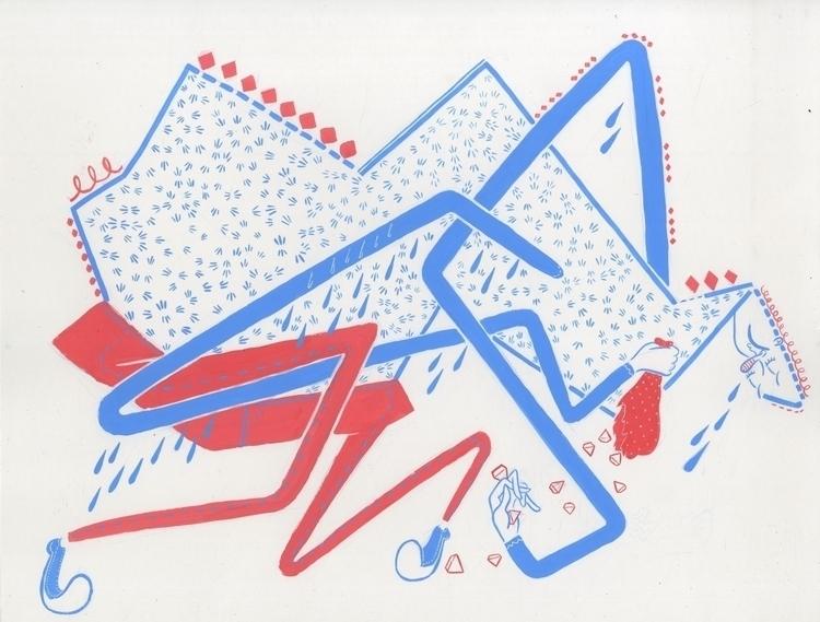 personal project! ink gouache - illustration - nathanmotzko | ello