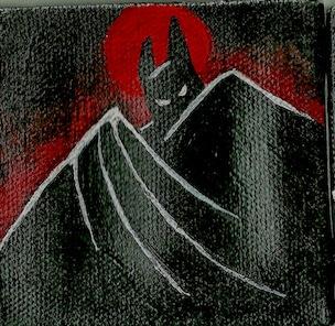 3 mini canvas Batman Batman: An - ashleywilliams-1156   ello