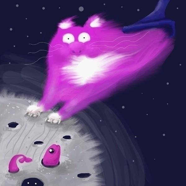 nightmares - illustration, raster - ololonycolophony | ello