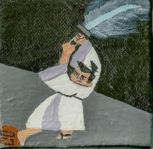 3 mini canvas Samurai Jack read - ashleywilliams-1156 | ello