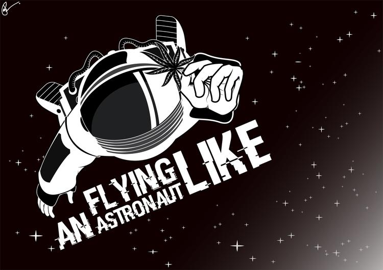 Astronaut - astronaut, illustration - artyp | ello