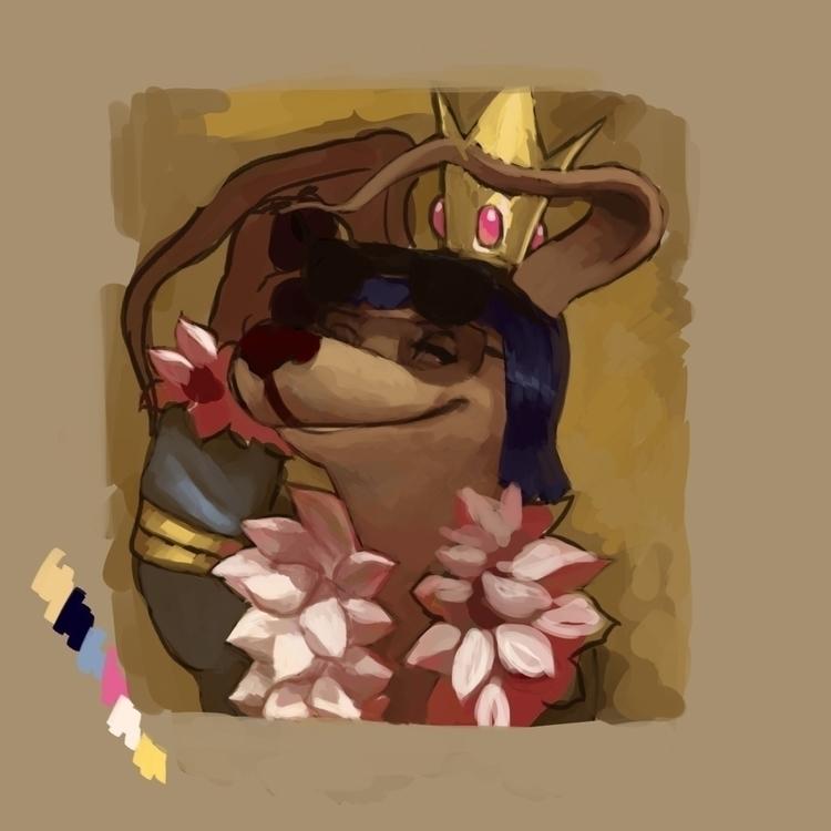 Unfinished Gelert - illustration - dolly-5706   ello
