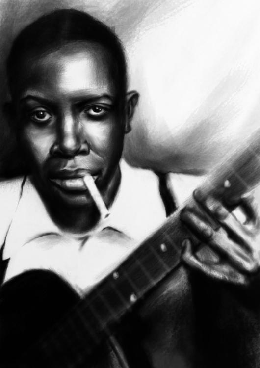 Robert Leroy Johnson - illustration - annagosteva | ello