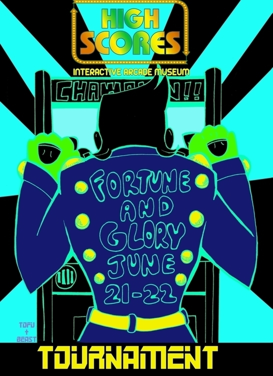 promotional poster tournament l - tofuplusbeast | ello