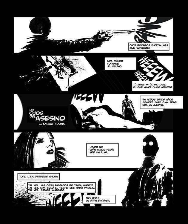 Historieta creada para el concu - oscartriana | ello