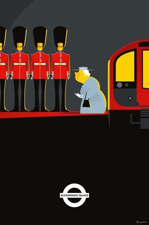 Work Illustration London Storie - fabio_p_corazza | ello