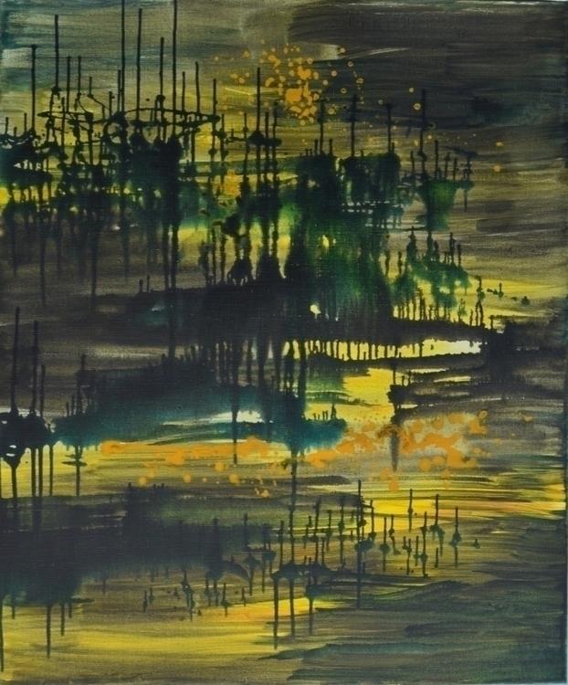 Forest mood. 120 100. Acrylic C - tanya_vasilenko | ello