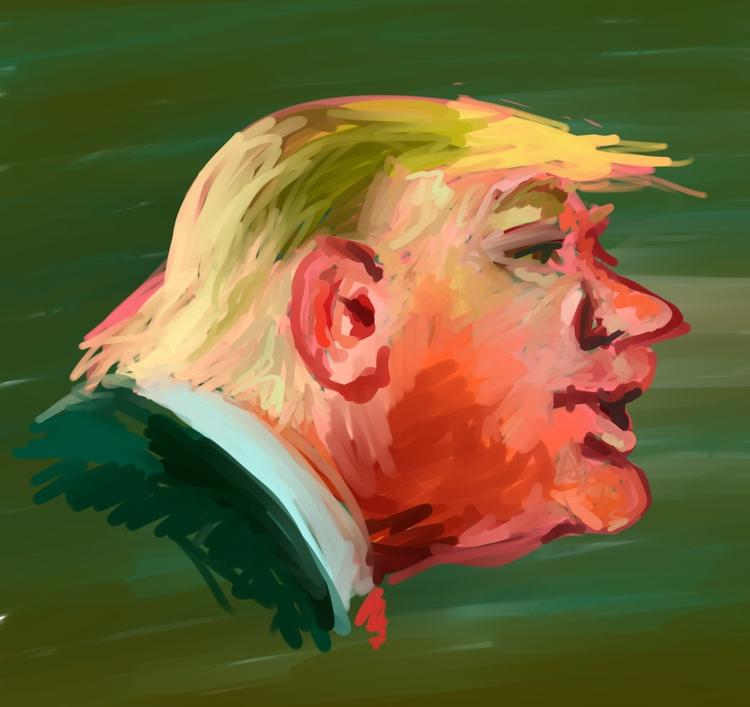 Tremp - donaldtrump, caricature - rabbott-8438 | ello