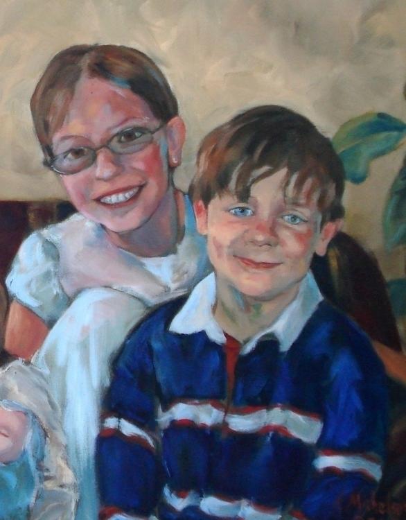 Portrait Anna Miles Martin - painting - brightspirit | ello