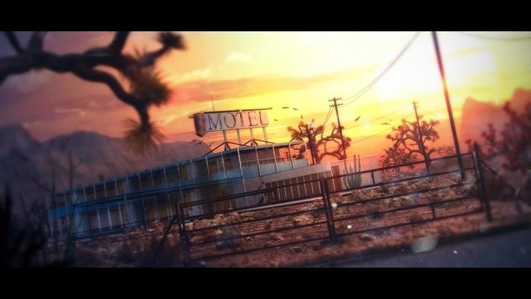 Lost Desert - 3D, Architecture, CG - crystalb1rd | ello