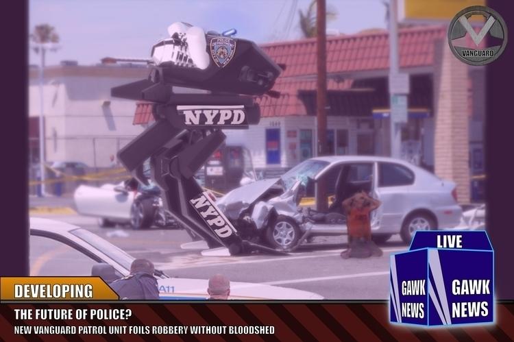 mech, Lawenforcement, police - frankiecangialosi | ello