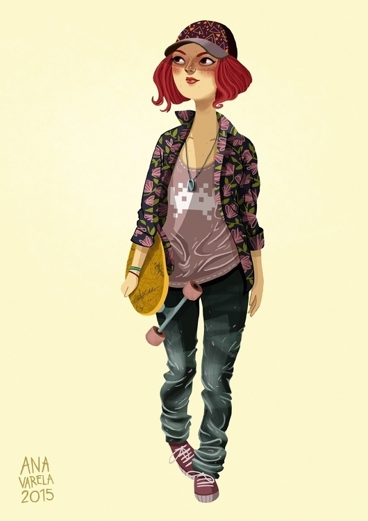 anavarela, fashionsketch, sketch - anavarela | ello