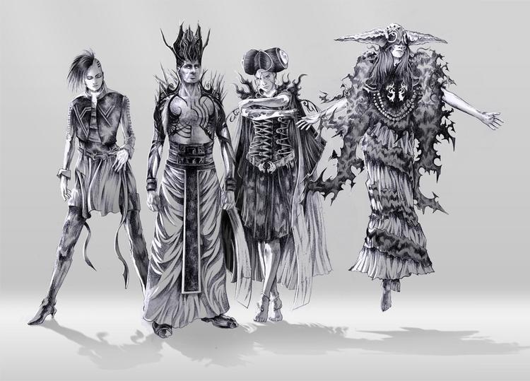 illustration, characterdesign - danielreyes-5557   ello