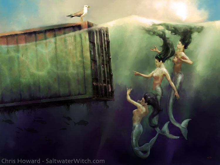 Mermaids discuss complexities g - chrishoward | ello